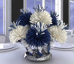 Blue Centerpiece