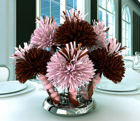 Brown Centerpiece