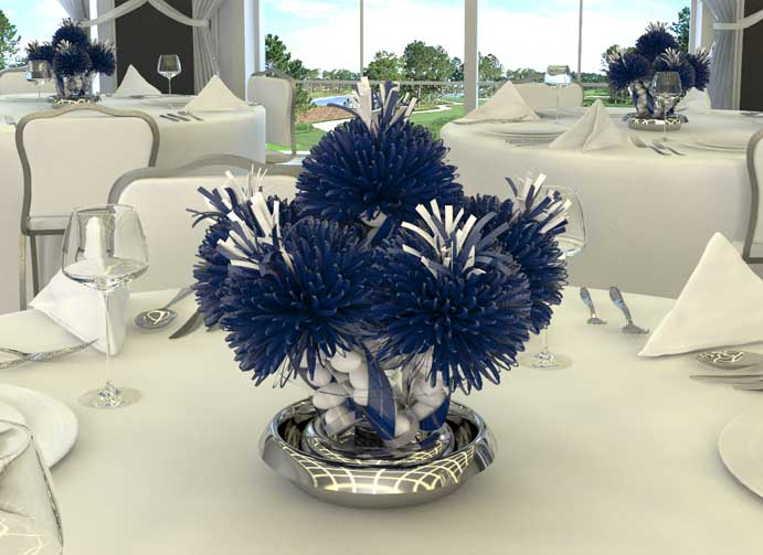 Banquet party favors and centerpieces