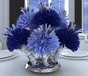 Navy Centerpiece