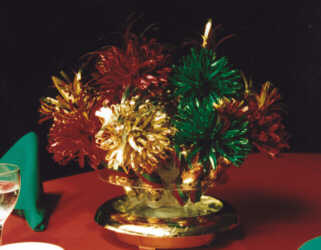 Christmas Centerpiece Close Up