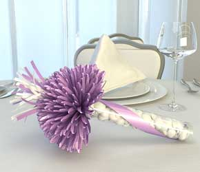 Lavender Wedding Party Favors